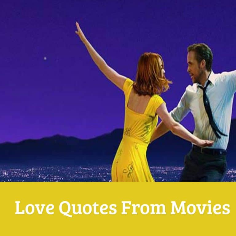 Top 40 Love Quotes From Movies