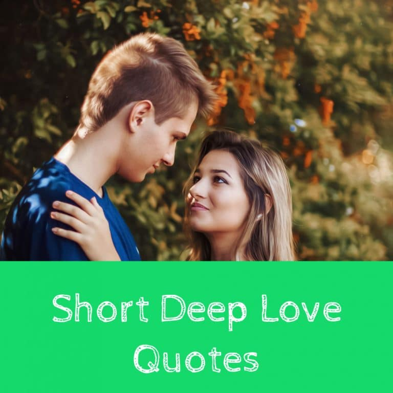 Top 38 Short Deep Love Quotes