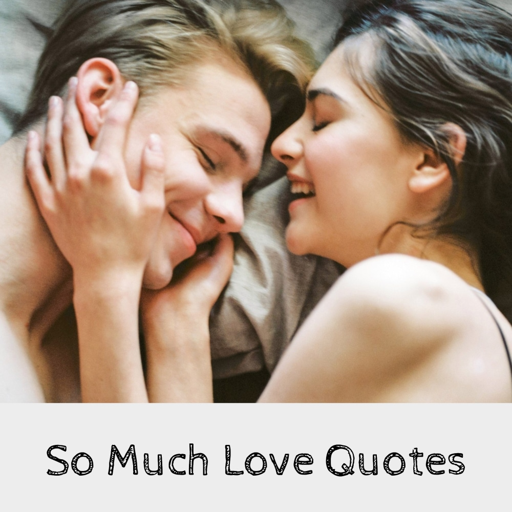 So Much Love Quotes